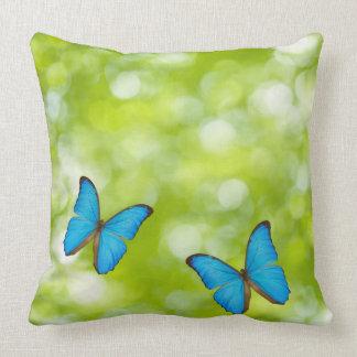 Butterflies flying pillow