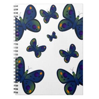 Butterflies for kids gifts spiral notebooks