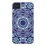 Butterflies Fractal Kaleidoscope iPhone 4 Case