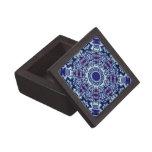 Butterflies Fractal Kaleidoscope Premium Trinket Boxes