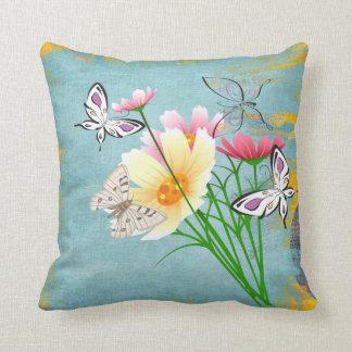 Butterflies from Heaven Polyester Throw Pillow