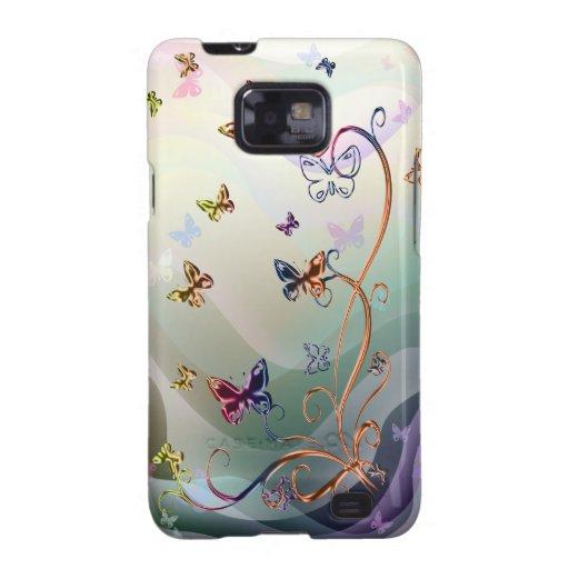 Butterflies Galaxy S2 Cases