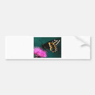 butterflies gathering bumper sticker