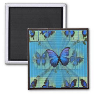 Butterflies Gathering Magnet