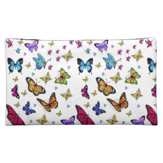 butterflies girls baggette cosmetic bag