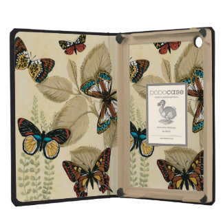 Butterflies Gliding Over Leaves iPad Mini Retina Cases