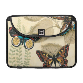 Butterflies Gliding Over Leaves MacBook Pro Sleeve