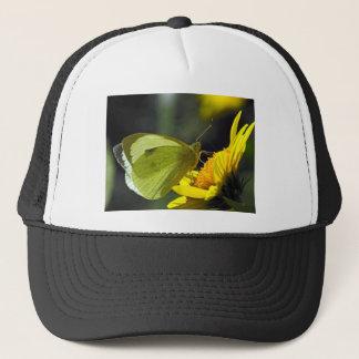 butterflies green catcher trucker hat