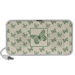 Butterflies Green Travel Speaker