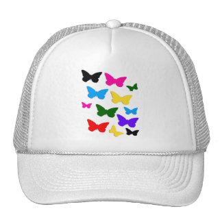 Butterflies Mesh Hats