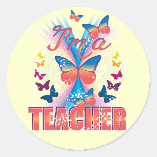 Butterflies I'm a Teacher Sticker