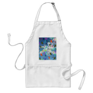Butterflies in Clouds Adult Apron