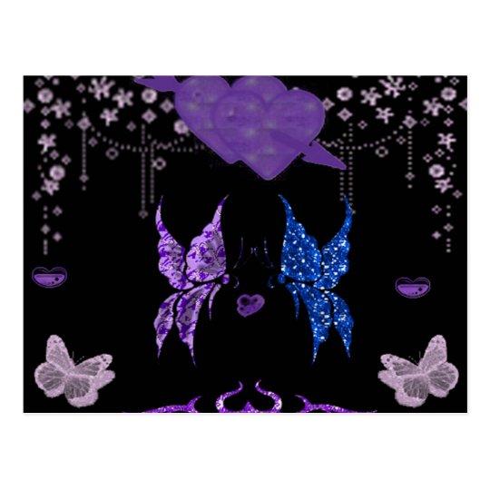 Butterflies In Love Postcard