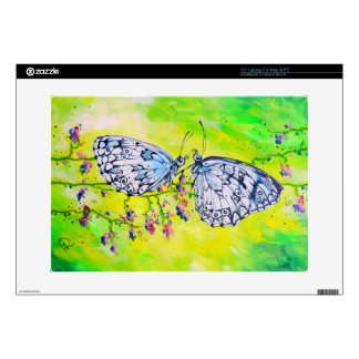 """Butterflies in Love Decal For 15"""" Laptop"""