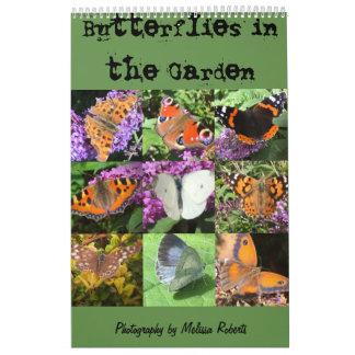 Butterflies in my garden calendar