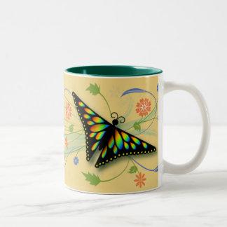 Butterflies in the Meadow Mug