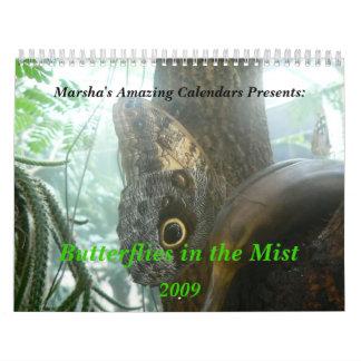 Butterflies in the Mist - Customized Calendar