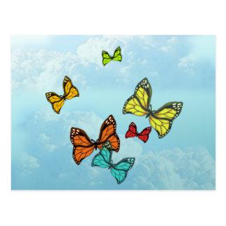 Butterflies in the Sky Postcard