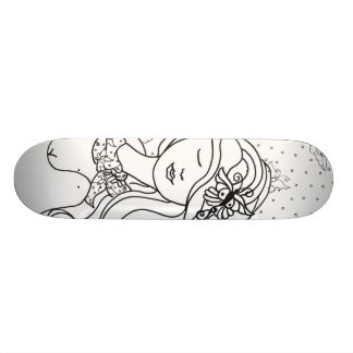 Butterflies In The Wind Skateboard Deck