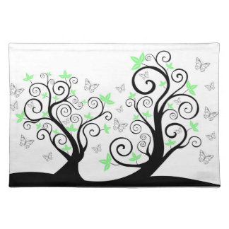 Butterflies in Trees American MoJo Placemat Cloth Place Mat