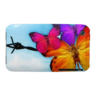 Butterflies iPhone 3 Case