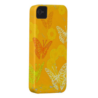 Butterflies iPhone 4 Case-Mate Case