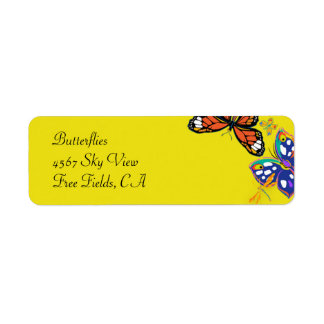 'Butterflies' Label