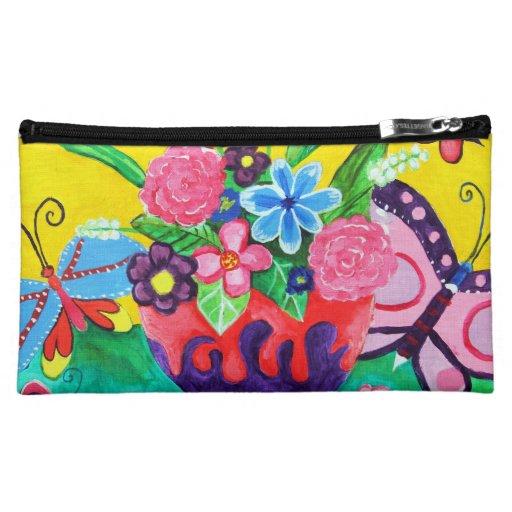 Butterflies & Ladybugs Cosmetic Bag