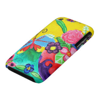 Butterflies Ladybugs iPhone 3G Barely There iPhone 3 Cover