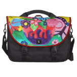 Butterflies & Ladybugs Laptop Bag