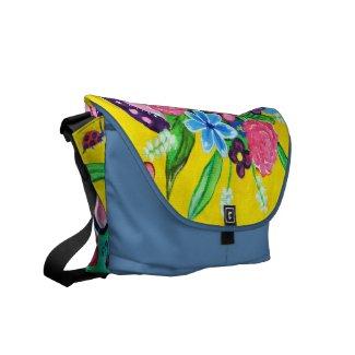 Butterflies & Ladybugs Messenger Bag rickshawmessengerbag