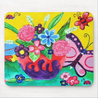 Butterflies & Ladybugs Mousepad