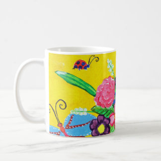 Butterflies & Ladybugs Mug