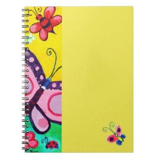 Butterflies & Ladybugs Notebook notebook