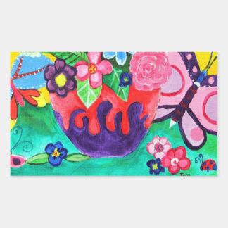 Butterflies & Ladybugs Sticker