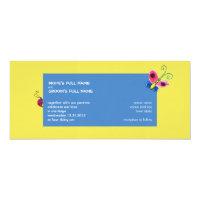 Butterflies &amp; Ladybugs Wedding Invitation (<em>$3.25</em>)