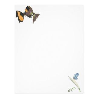 Butterflies Letterhead