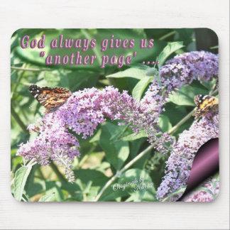 Butterflies & Lilac  Mousepad