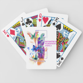 Butterflies Logo Bicycle Playing Cards