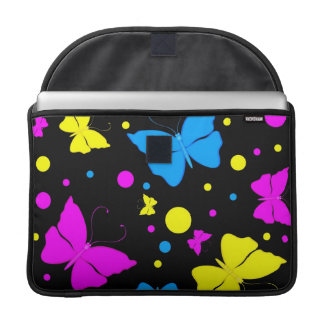 Butterflies MacBook Pro Rickshaw Flap Sleeve