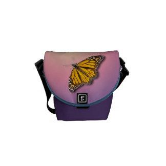 BUTTERFLIES COURIER BAG