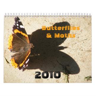 Butterflies & Moths 2010 Calendar