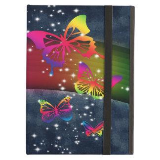 Butterflies n Rainbows Cover For iPad Air
