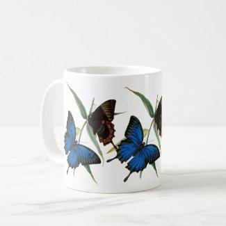 Butterflies Natural History Mug