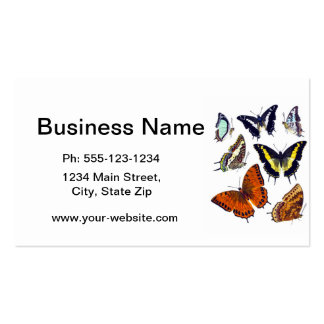 Butterflies no. 14 Home Decor Gift Double-Sided Standard Business Cards (Pack Of 100)