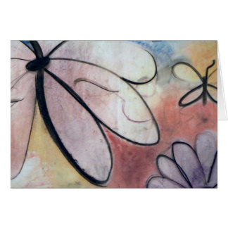 Butterflies, note card by Brad Hines