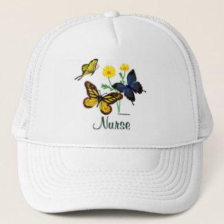 Butterflies Nurse Trucker Hat