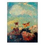 Butterflies | Odilon Redon Postcard