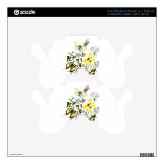 Butterflies of Summer Decal For PS3 Controller