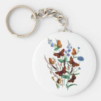 Butterflies of Summer Keychain